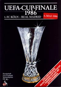 program: Köln - Real M. 85/6 UEFA Cup Final